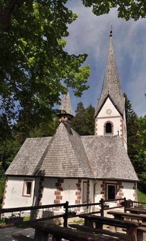 St Helena Church - not far from Breg House