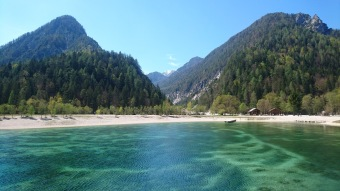 Jasna lake - but could be a tropical coast line