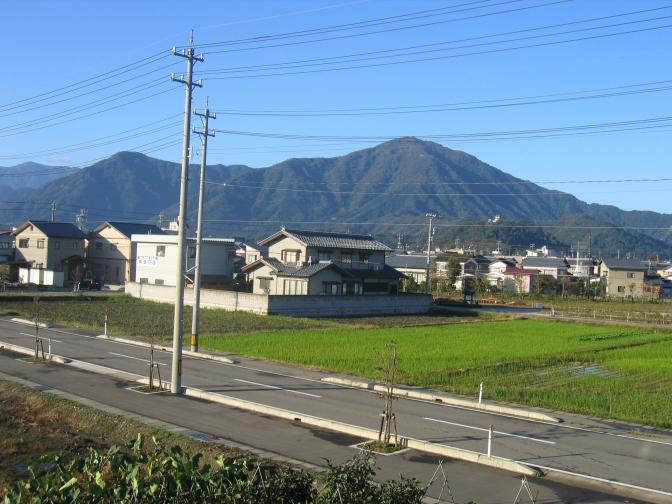 View from my balcony, Ono, Fukui, Japan