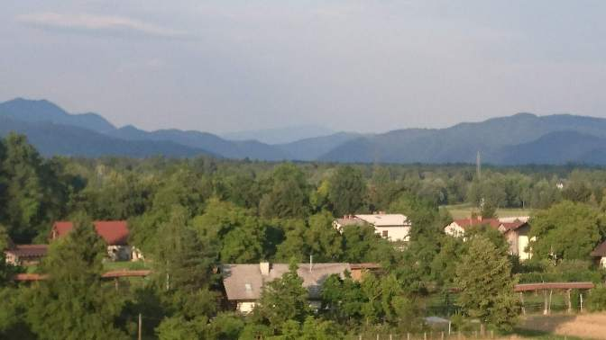 Forests and moutnains, Ljubljana outskirts